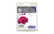 5 Star Compatible Inkjet Cartridge Page Life 260pp Magenta [Brother LC985M Alternative]
