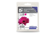 5 Star Compatible Inkjet Cartridge Page Life 1200pp Magenta [Brother LC1280XLM Alternative]