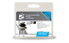 5 Star Compatible Inkjet Cartridge Page Life 1000pp Black [HP No. 932XL CN053AE Alternative]