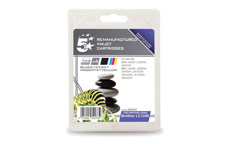 5 Star Compatible Inkjet Cartridges Page Life 2400pp 4 Colour [Brother LC1240VALBP Alternative] [Pack 4]