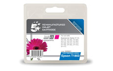 5 Star Compatible Inkjet Cartridge Capacity 3.3ml Magenta [Epson C13T18034010 Alternative]