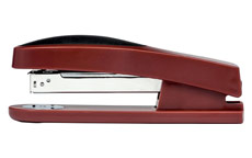 5 Star Office Stapler Full Strip Rubber Body Capacity 25 Sheets Red