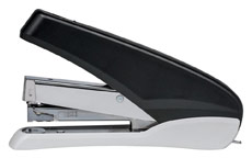 5 Star Office Power-Save Full Strip Stapler 40 Sheet Capacity Takes 26/6 Staples Black/Grey