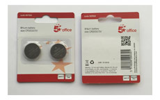 5 Star Batteries Lithium CR2032 [Pack 2]
