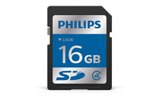 Philips ACC9016 SDHC 16GB Secure Digital Card