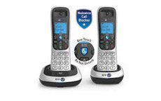 BT BT2200 Twin Dect Telephone with Nuisance Call Blocking