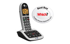 BT BT4600 Big Button Dect Telephone with Answer Machine
