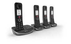 BT Advanced Quad Dect Call Blocker Telephone with Answer Machine