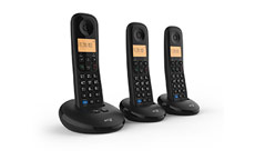 BT Everyday Trio Dect Call Blocker Telephone with Answer Machine