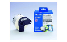 Brother DK44205 Removable White Paper