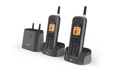 BT Elements 1K Twin Cordless Telephone