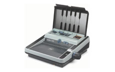 GBC CombBind C366E Comb Binding Machine with Electric Punch