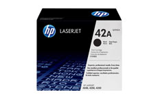 Hewlett Packard [HP] No. 42A Laser Toner Cartridge Page Life 10000pp Black