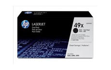 Hewlett Packard [HP] No. 49X Laser Toner Cartridge Page Life 12000pp Black