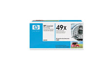 Hewlett Packard [HP] No. 49X Laser Toner Cartridge Page Life 6000pp Black