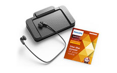 Philips LFH7277 SpeechExec Pro 11 Transcription Kit and Software
