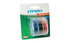 Dymo S0847750 Embossing Tapes (3pk)