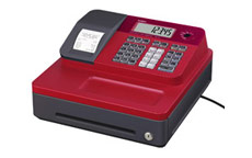 Casio SE-G1 Cash Register Red