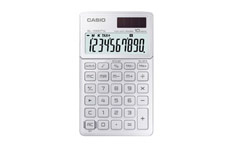 Casio SL-1000TW Handheld Calculator White