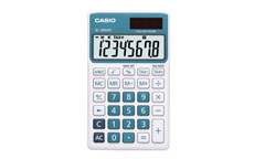 Casio SL-300NC Handheld Calculator Blue