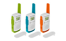 Motorola TLKR T42 Walkie Talkie Radio Triple Pack