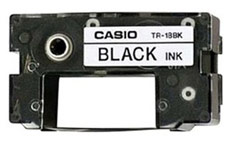 Casio TR-18BK Black Ink Ribbon