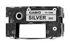 Casio TR-18SR Silver Ink Ribbon