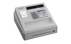 Sharp XE-A137 White Cash Register