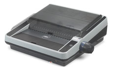 GBC MultiBind 230E Comb and Wire Binder with Electric Punch