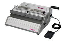 RENZ Eco 360 Comfortplus Wire Binding Machine with Electric Punch