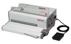 RENZ SPB 360 Comfortplus Electric Spiral Inserter with Electric Paper Punch