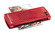 Swordfish Superslim Red A4 Office Laminator