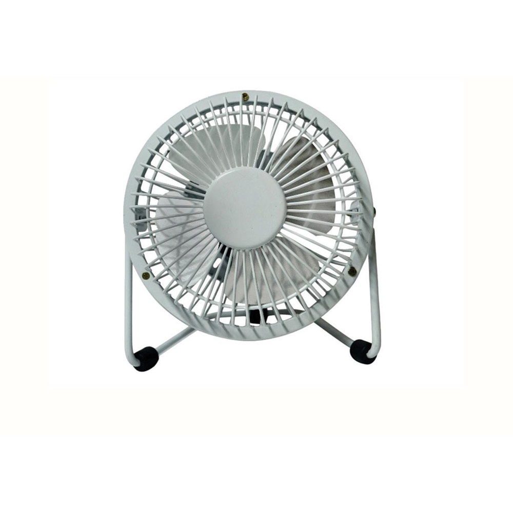 4 Inch Fan : Desk fan inch with tilt usb interface white