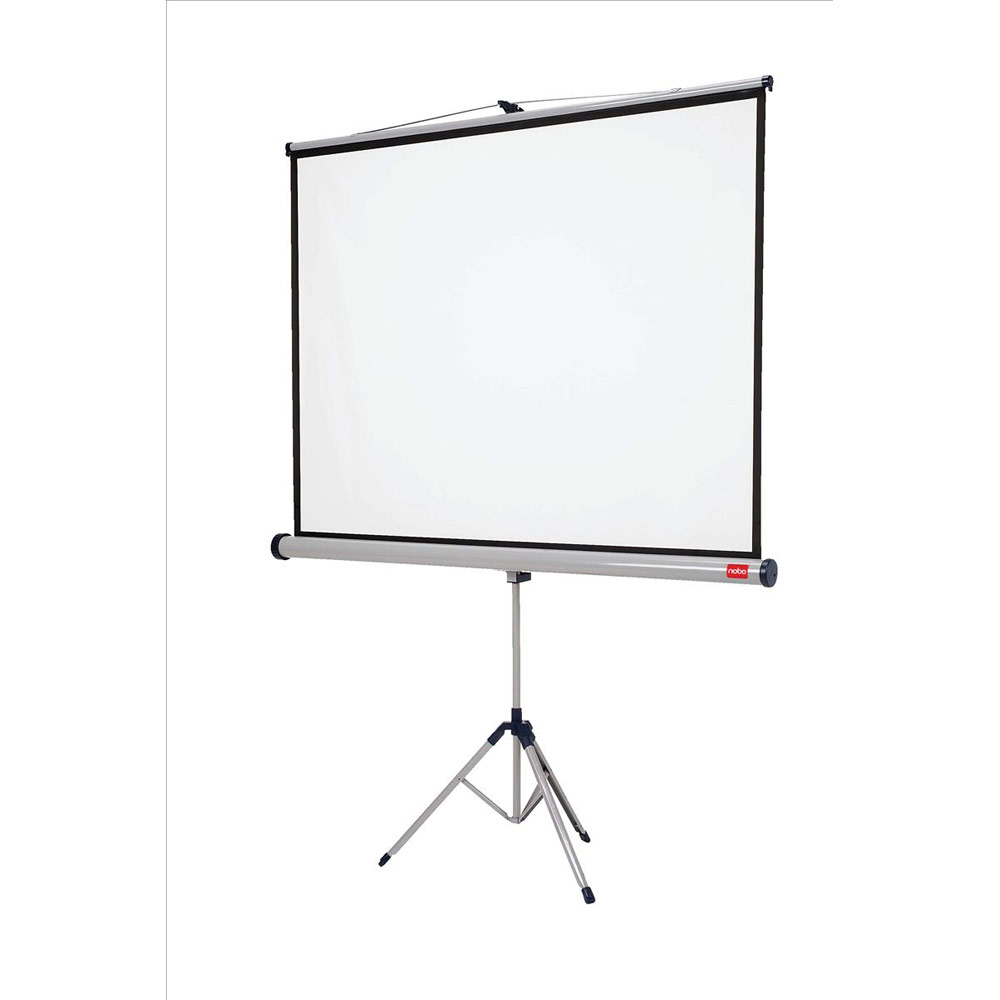 nobo tripod widescreen projection screen w2000xh1513
