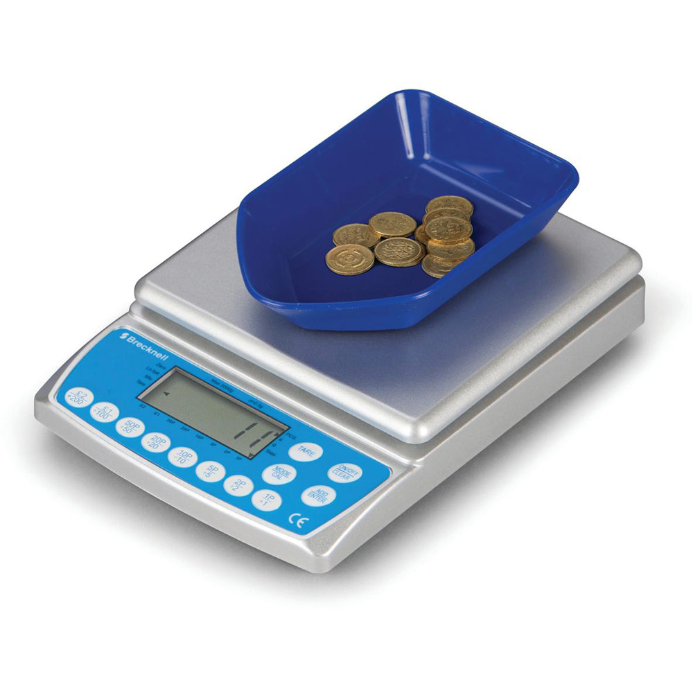 scale and coin