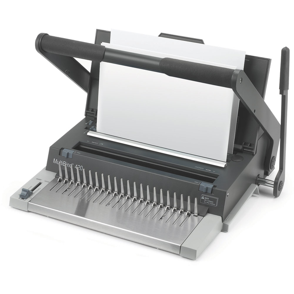 Gbc Ibimaster 200 Manual Comb Binder